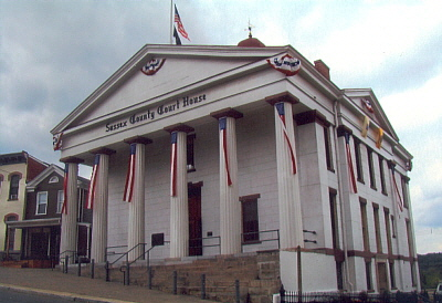 Sussex County Court House - Newton New Jersey